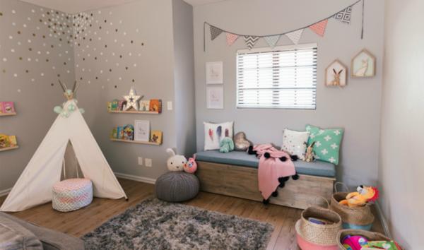baby nursery white teepee play tent